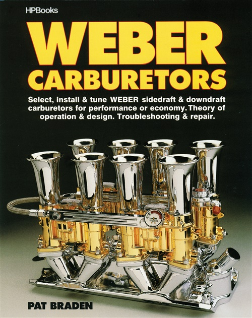 Kniha karburátory Weber (manuál)