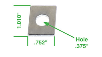Podložky pod vahadla/0.76mm - Typ 1/3/CT/CZ/WBX motory (1965 »)