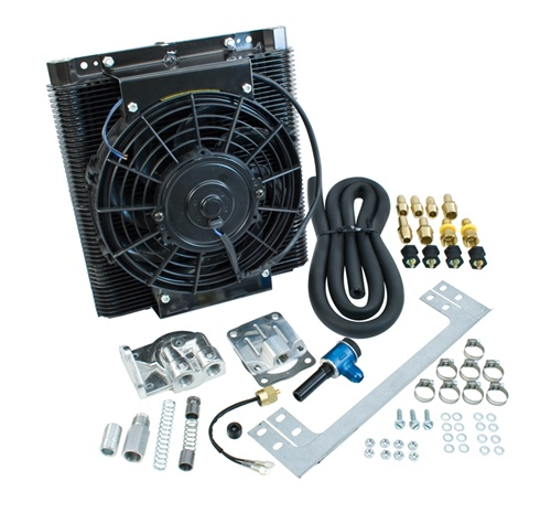 Chladič oleje s ventilátorem/kit - Typ 1/2/3/14/25/181 (1960 »)