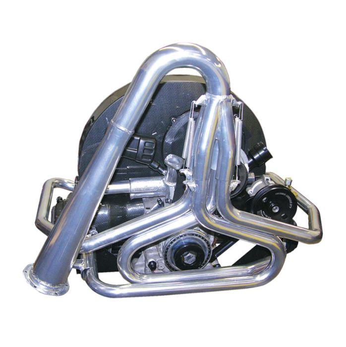 Výfuk se svody 35mm/černý - T.1 Buggy/Baja/Trike (1.3-1.6)