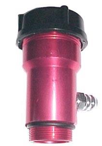 Hrdlo oleje/červené Alu - Typ 1 motor (1960 »)