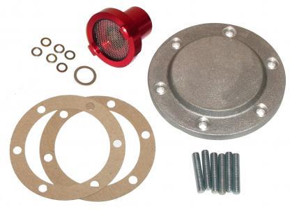 Víko motoru Alu/výpust oleje - Typ 1/3/CT/CZ motory (1960 »)