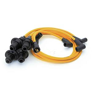 Kabely zapalovací 90° OE/žluté - Typ 1 motor (» 1992)