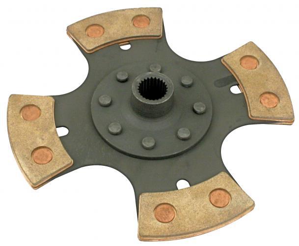 Lamela spojky 200mm/feramik - Typ 1/3 motory (race)