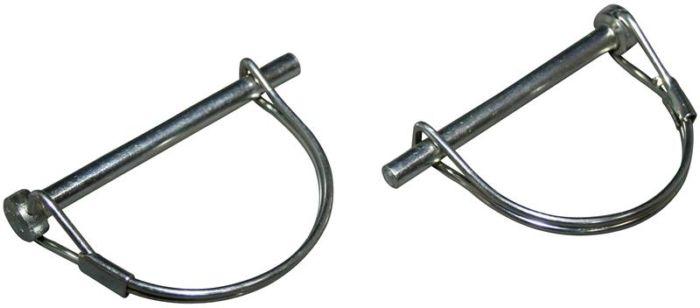 Spony pantu zadní kapoty/chrom - Typ 1 (» 2003)
