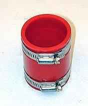 Adaptér filtru vzduchu/červený uretan - Typ 1/2/14/181 (82x50mm)