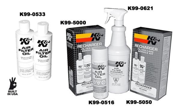 Olejový čistič 946ml (rozprašovač K&N)