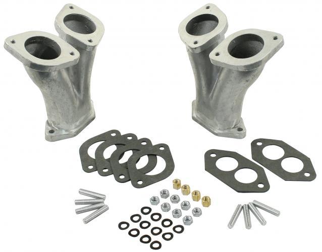 Potrubí sání dual/165mm - Typ 1 motor (Weber 40-44-48IDF/DRLA)