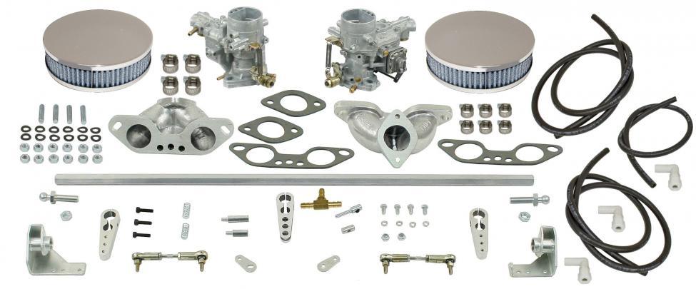 Karburátory EMPI EPC 34 dual/kit - Typ 2/25/Porsche 914/4 (1971 »)