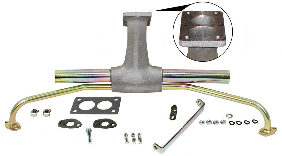 Potrubí sání singl/centrální - Typ 1 motor (Weber DFEV/DFAV/DFV)