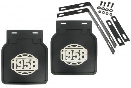 Zástěrky zadní černé/logo 1958 - Typ 1 (» 2003)