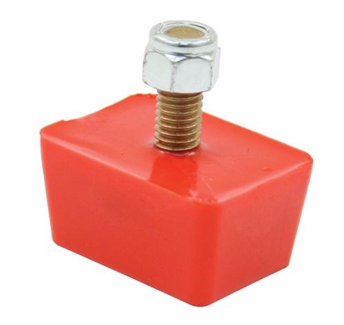 Dorazy nárazníku 22x47x35mm/červený uretan - Typ 1/Buggy (univerzál)