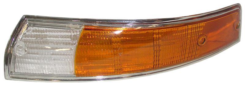 Sklo směrového světla/přední L - Porsche 911 (1968 » 73)