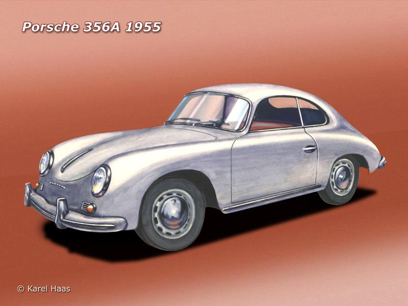 Panel podlahy/zadní - Porsche 356 A (1954 » 58)