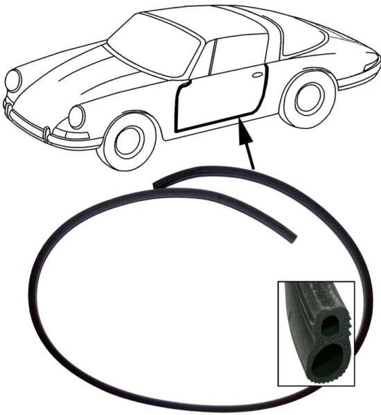 Těsnění dveří L/P - Porsche 911 Targa/Cabrio (1964 » 89)