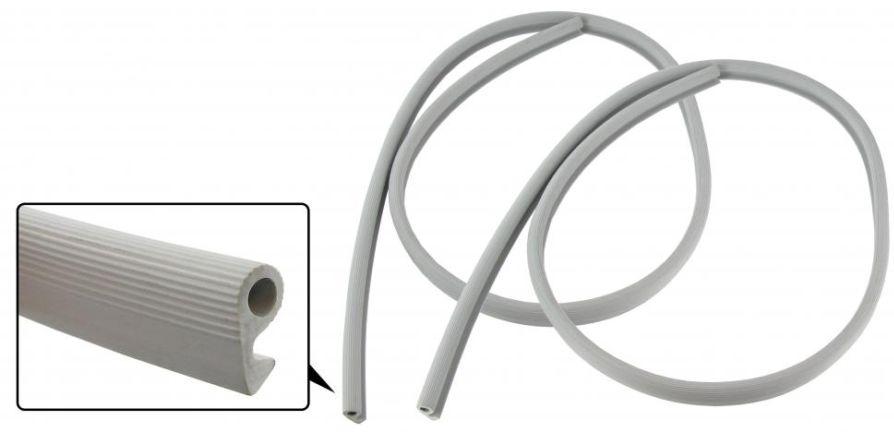 Lemy čalounění B-sloupků/šedé - Typ 1 (1958 » 67)