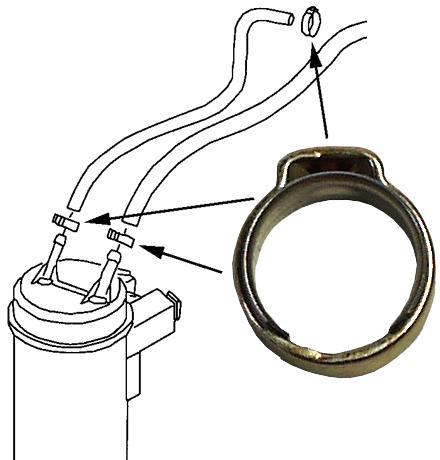 Objímka hadicová/jednorázová (12mm)