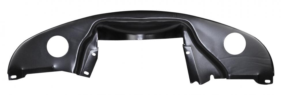 Krycí plech plný s otvory/zadní černý - Typ 1 motor (1.3/1.5/1.6)
