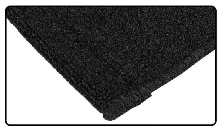 Koberce zavazadlového prostoru zadní/černé - Typ 1 (1972 »)