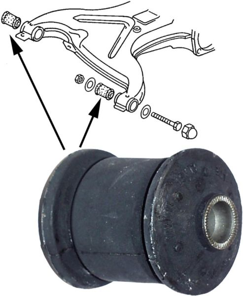 Pouzdro/zadní rameno L/P - Typ 25 (1979 » 92)