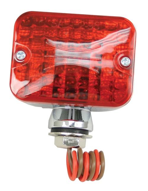 Světlo koncové poziční mini/červené/2-vlákna - Typ (univerzál)