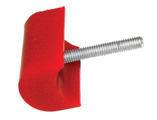 Dorazy nárazníku 51x38mm/červený uretan - Typ 1/2/3/Buggy (univerzál)