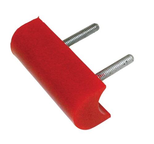 Dorazy nárazníku 102x38mm/červený uretan - Typ 1/2/3/Buggy (univerzál)