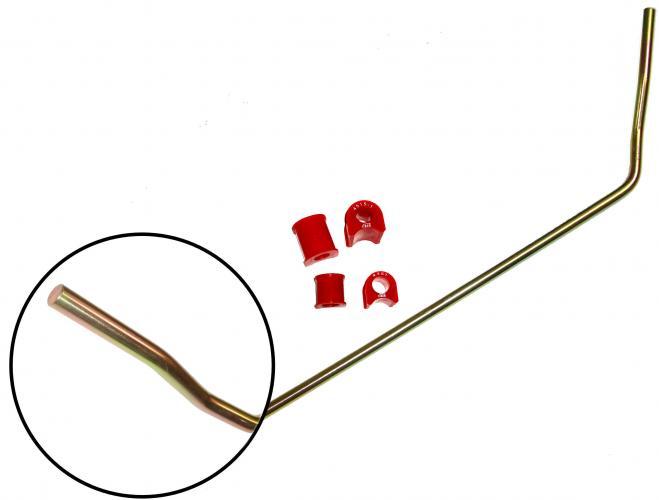 Stabilizátor přední HD/červený uretan/kit - Typ 1/14/181 (1965 » 03)