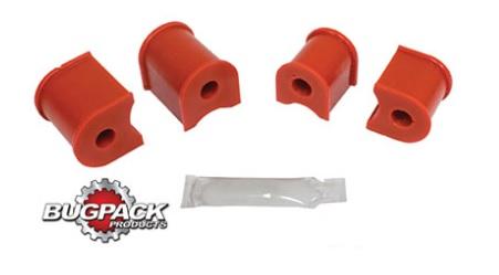 Pouzdra 19mm/přední stabilizátor/červený uretan - Typ 1/14/181 (#9596#6500-11)