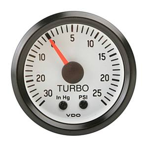 Přístroj bílý/mechanický/Turbo (Ø 52mm)