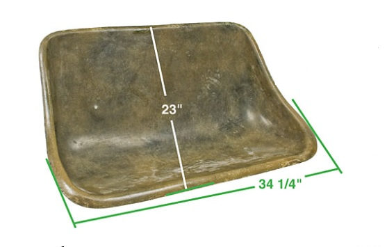 Sedadlo zadní/lamino - T.1 Buggy (univerzál)