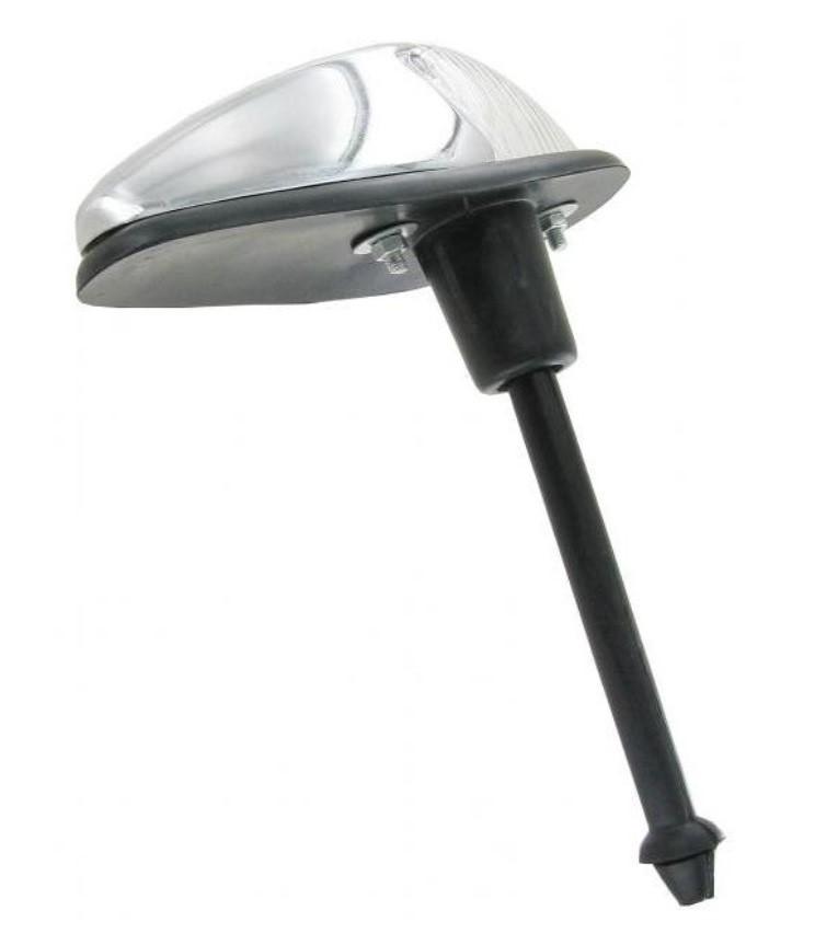 Světlo směrové OE/přední čiré/chrom - Typ 1 (1960 » 63)