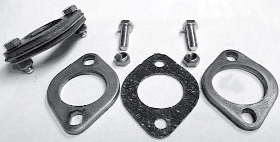 Příruby Std/výfukový systém - Typ 1/3 motory (» 2003)