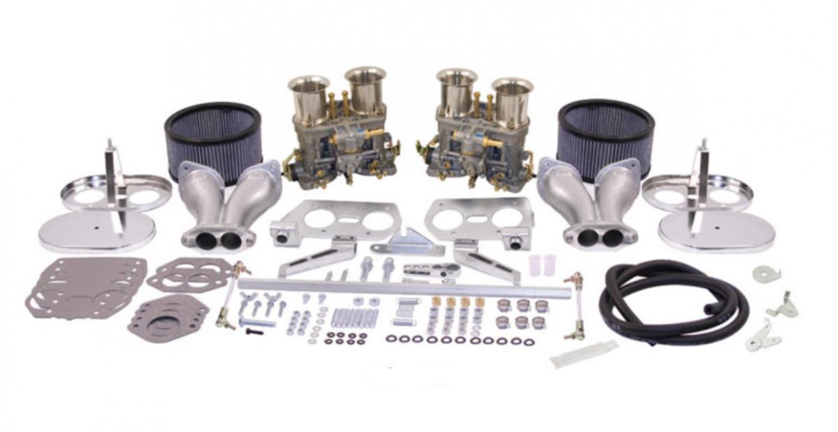 Karburátory Weber 44IDF dual/offset/komplet kit 6 h.t. - Typ 1 motor (1.8 - 2.2)