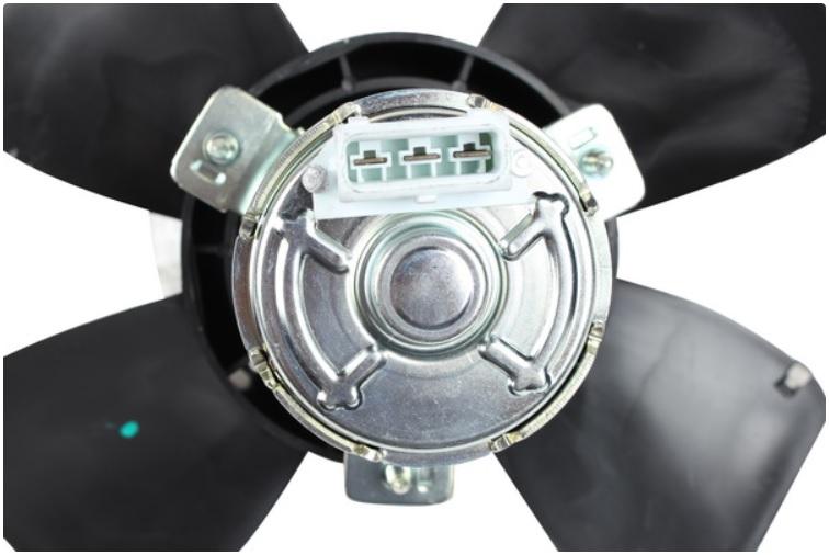 Ventilátor chladiče 150/80W - Typ 4 (1990 » 95)