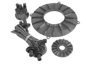 Kabely zapalovací wo kit/šedé - Typ 1 motor (» 1992)