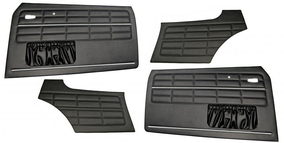 Panely dveří černé/kit - Typ 14 (1963 »)