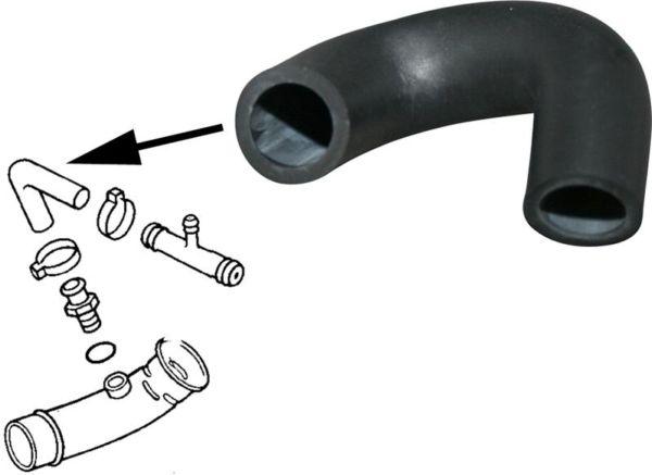 Hadice ventilace/nádrž paliva - T.1 1302/1303 (1970 » 80)