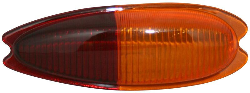 Sklo světla/zadní P - Porsche 356 (1957 » 65)