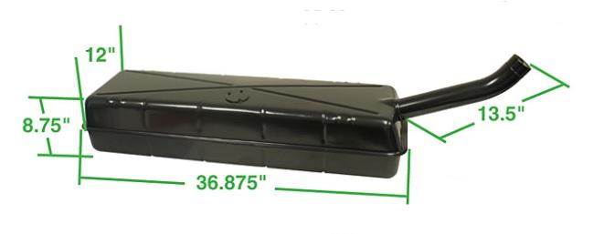 Nádrž paliva - Typ 2 (1955 » 67)
