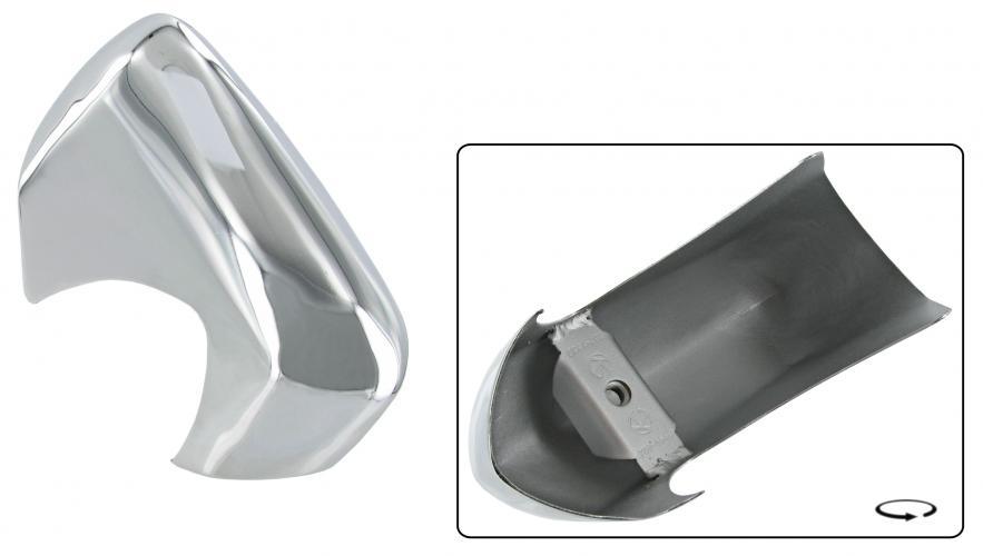 Příčka nárazníku chrom přední/P zadní/L - Typ 14 (» 1971)
