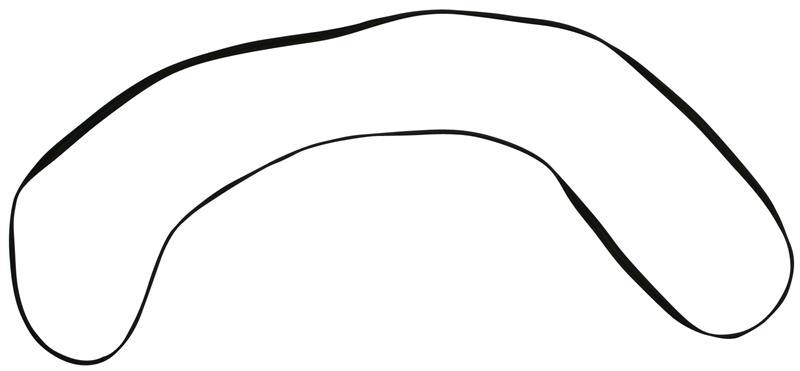Těsnění/mřížka zadní kapoty - Porsche 356 A/B/C (1950 » 65)