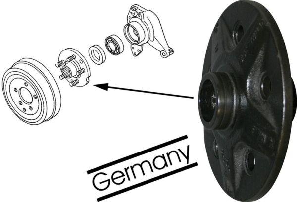 Náboj kola/zadní buben L/P - Typ 2/25 (1970 » 92)
