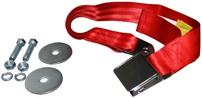 Pás bezpečnostní břišní/červený - Typ 1/2/3/14/181 (1964 »)
