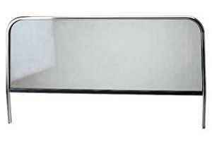 Rám Alu+přední sklo 1080x407mm (Buggy)