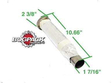 Vložka koncovky výfuku/270x60mm (#18-1047)