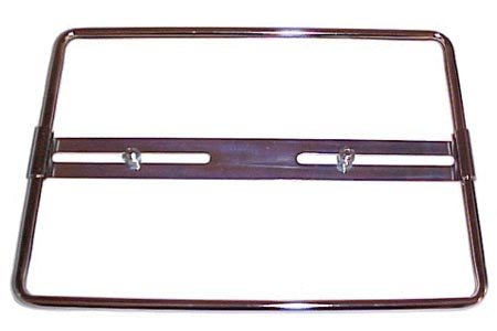 Držák SPZ/chrom (34x21cm)