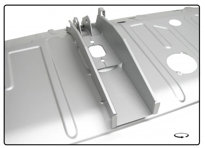 Panel podlahy/kabina - Typ 2 (1958 » 67)