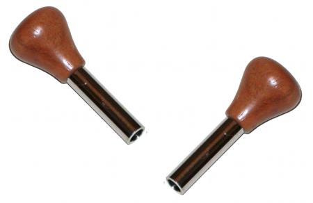 Pojistky dveří chrom/dřevo - Typ 1/2/3/14 (1966 » 03)
