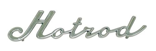 Emblem Hotrod/chrom - Typ (univerzál)